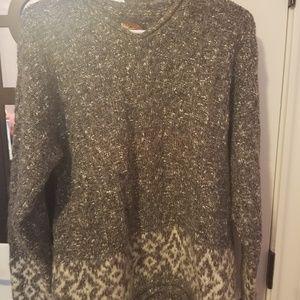 heavy wool sweater Medium Alps